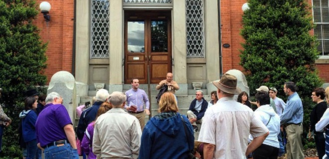 Walking tour of Downtown Frederick