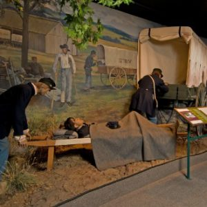 The National Museum of Civil War Medicine Display in Frederick, MD