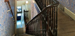 The stairs Clara Barton climbed every day have been restored to the 19th century appearance.
