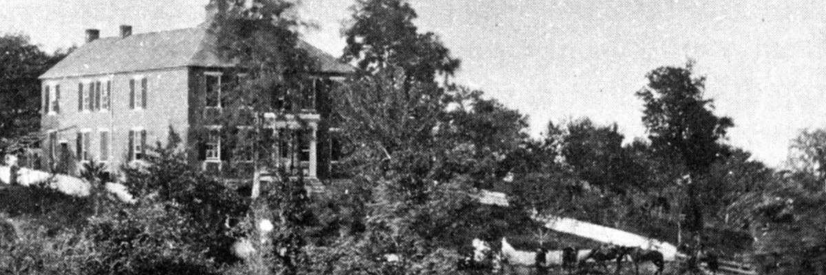 1862 photo of the Pry house