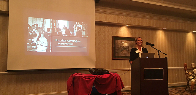 A presentation at the 25th annual Conference on Civil War Medicine