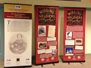 A traveling exhibit on Clara Barton