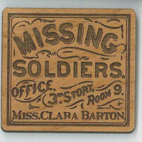 Clara Barton Missing Soldiers Office Magnet