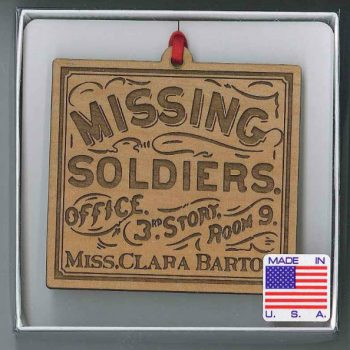 Missing Soldiers Office Ornament