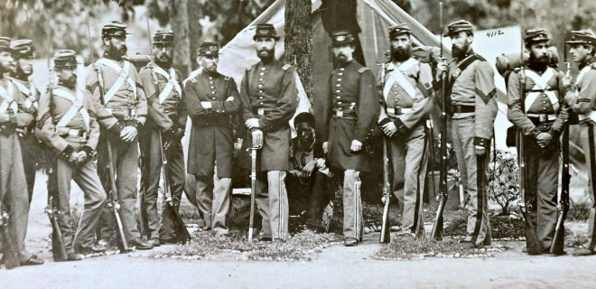 Captured moment of life: Young men of the 8th New York State Militia
