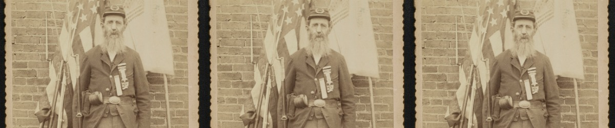 The photos of a GAR veteran- Civil War Medicine Museum