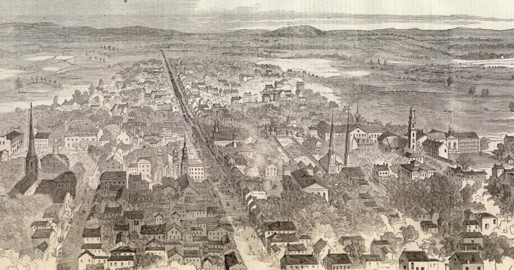 Frederick, Maryland c 1862