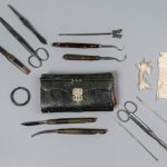 Medical kit used by Dr. Mary Walker. Courtesy of the National Museum of Health and Medicine
