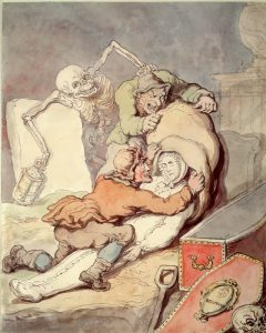 BODYSNATCHING by Thomas Rowlandson