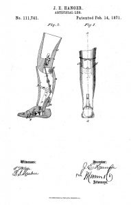 Hanger's First Patent