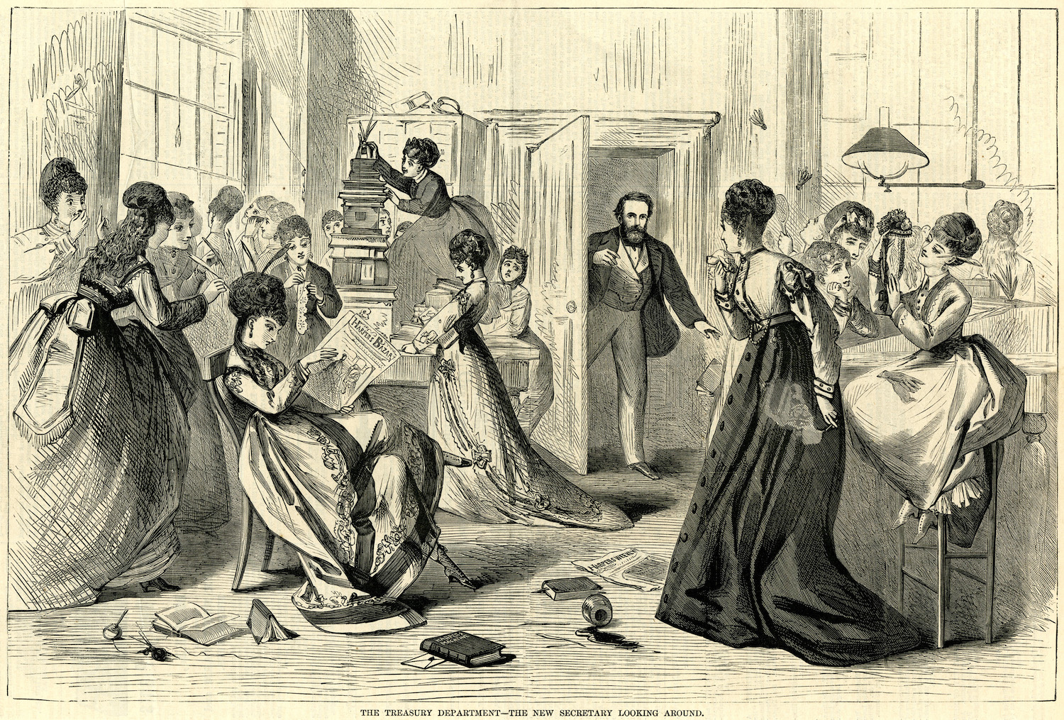 women s in 19 the century We tend to think of the 19th century as a primitive time, when the main form of entertainment was sitting around and waiting for the but victorian-era folks were just like you and i they too enjoyed the finer things in life, like looking at pretty women being pretty.