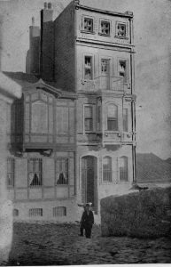 The Red Cross Headquarters in Constantinople, Turkey. From Clara Barton: The Red Cross, 1898