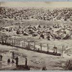 View of Andersonville Prison, August 1864. Courtesy of the Library of Congress
