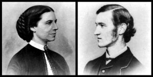 Clara Barton and Dorence Atwater. Courtesy of the Library of Congress
