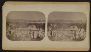 Belle Isle Prison Camp, Virginia. Courtesy of the Library of Congress