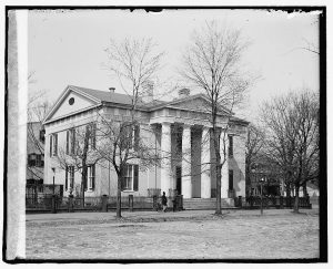 The Lyceum Building in Alexandria, VA Courtesy of the Library of Congress