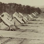 Tents of Camp Letterman in August 1863