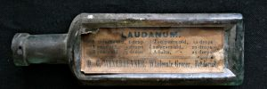 Empty Laudanum bottle- Civil War Medicine Museum