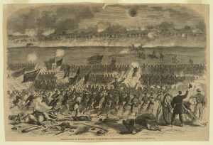McCarter witnessed several charges like this one during the Battle of Fredericksburg