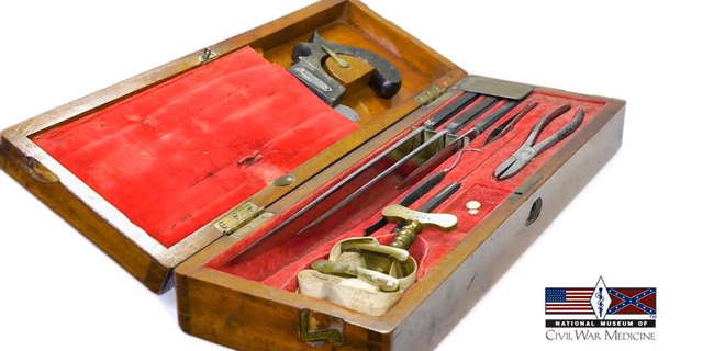 Artifact minute- Civil War Surgical Kit- Medicine Museum