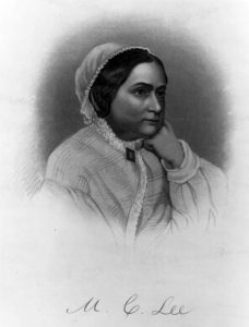 Mrs. Robert E. Lee. Courtesy of the Library of Congress