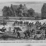 Harpers Weekly Illustration of the Battle of Falling Waters- Civil War Medicine Museum