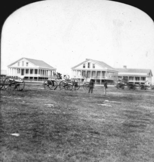 Barracks at the Naval Station in Key West. Courtesy of the State Library and Archives of Florida