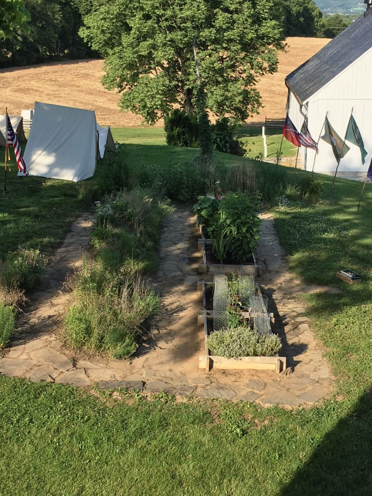 Pry Garden at the end of Phase 1