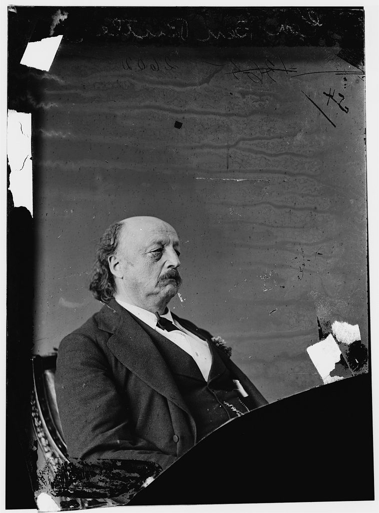Benjamin Butler after the Civil War. Courtesy of the Library of Congress