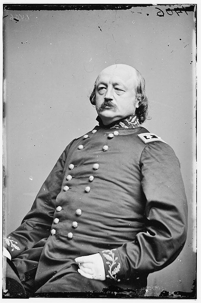 Major General Benjamin Butler during the Civil War. Courtesy of the Library of Congress