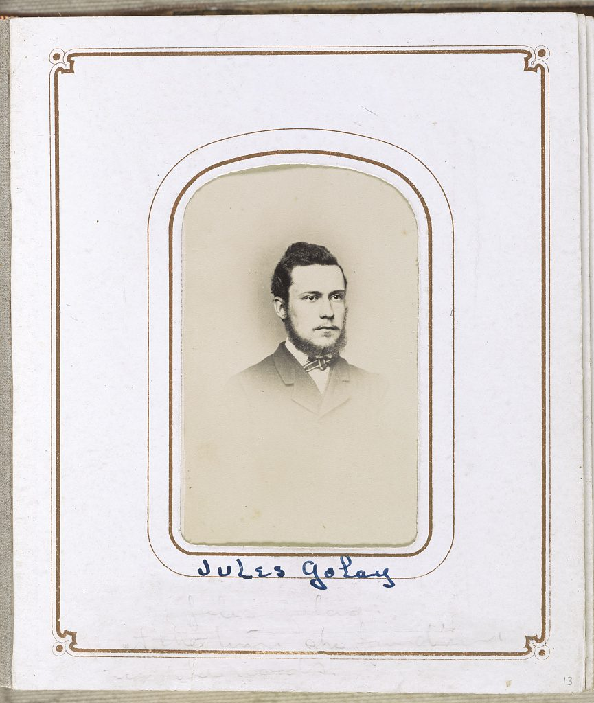 Jules Golay Courtesy of the Library of Congress