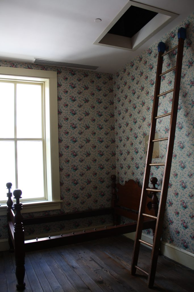 "Clara Barton's ""little private parlor"" in the Seventh Street building. Courtesy of the Clara Barton Missing Soldiers Office Museum"