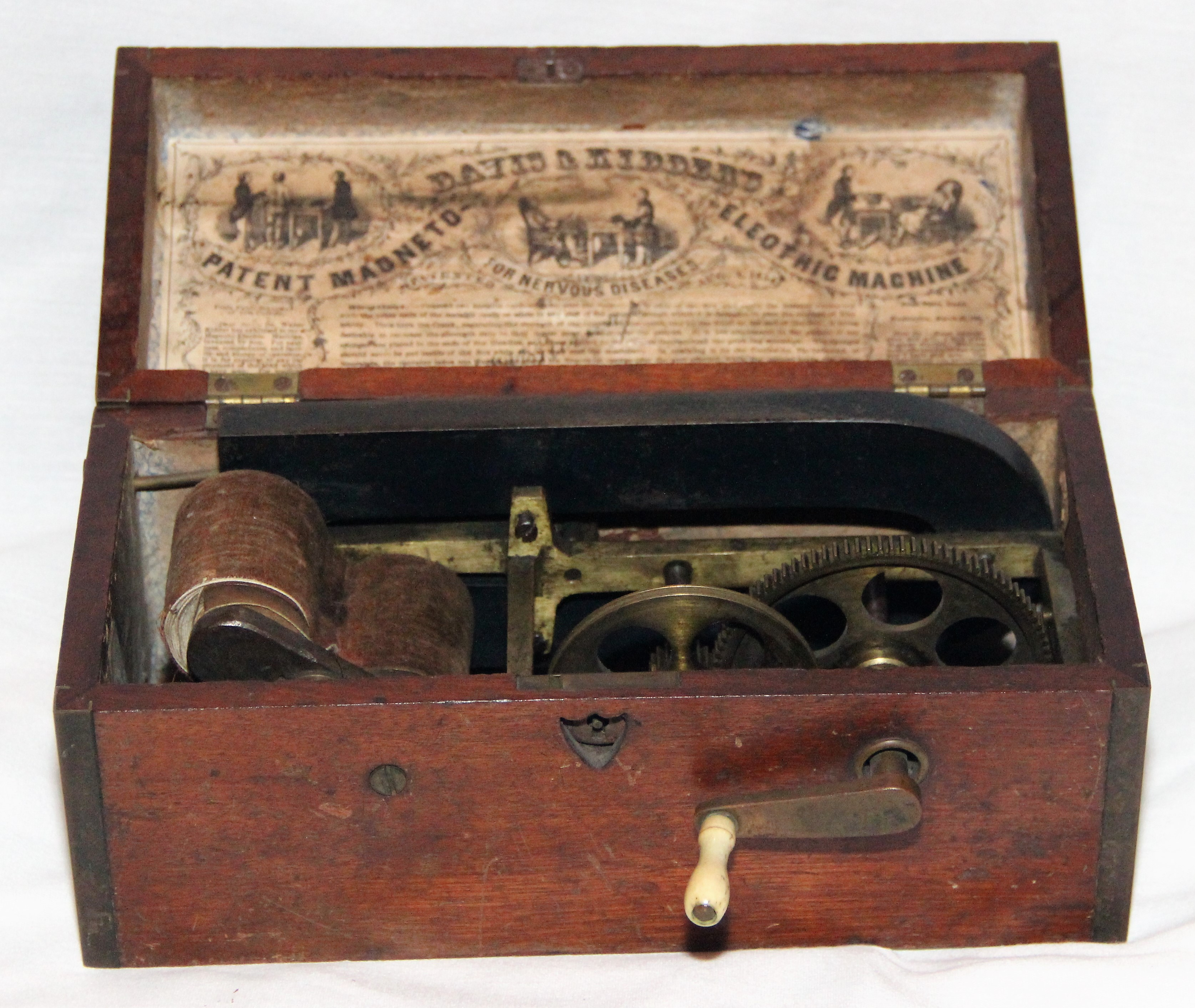 Figure 1 Davis Kidder S Patent Magneto Electric Machine Was Available For Use During