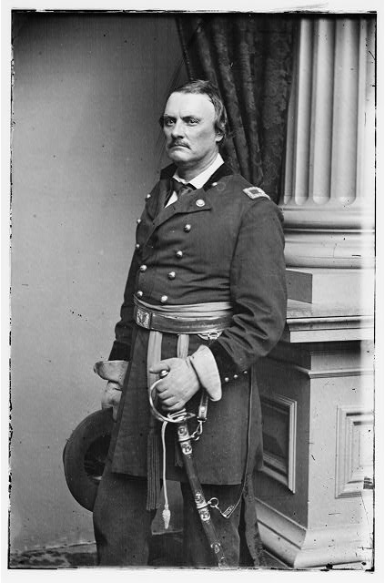 Brigadier General Israel Richardson in full uniform. Library of Congress.