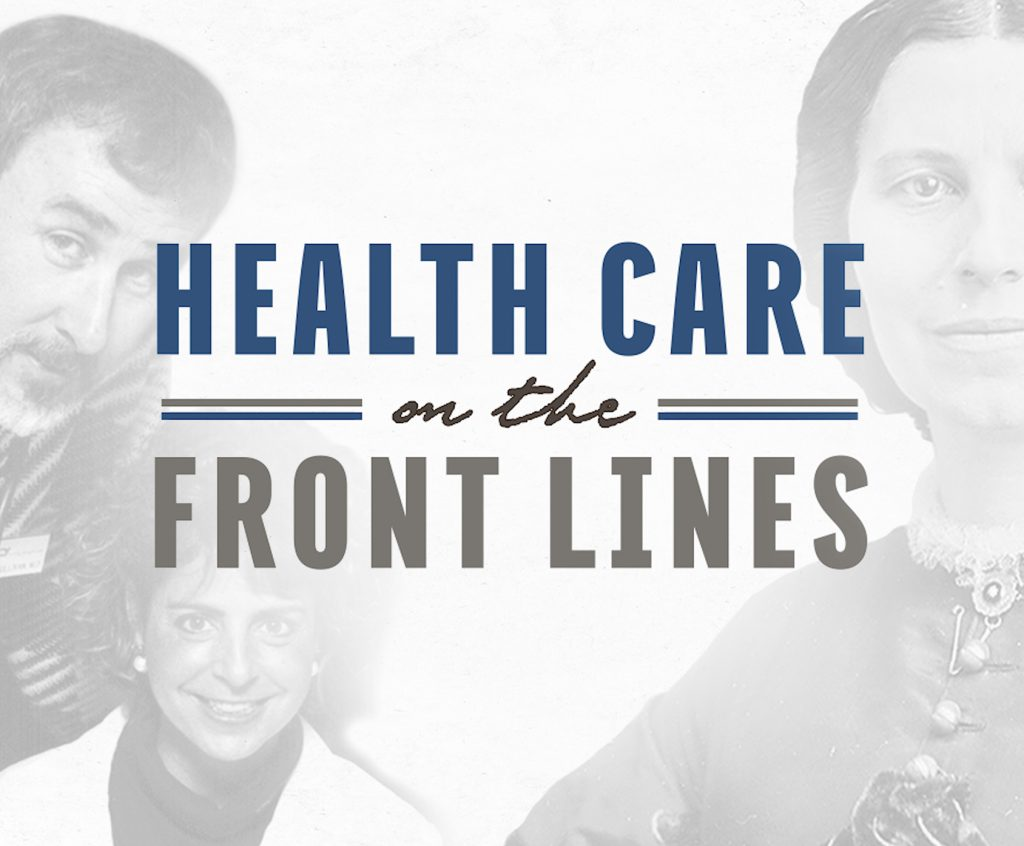 Heathcare on the Frontlines Documentary Cover