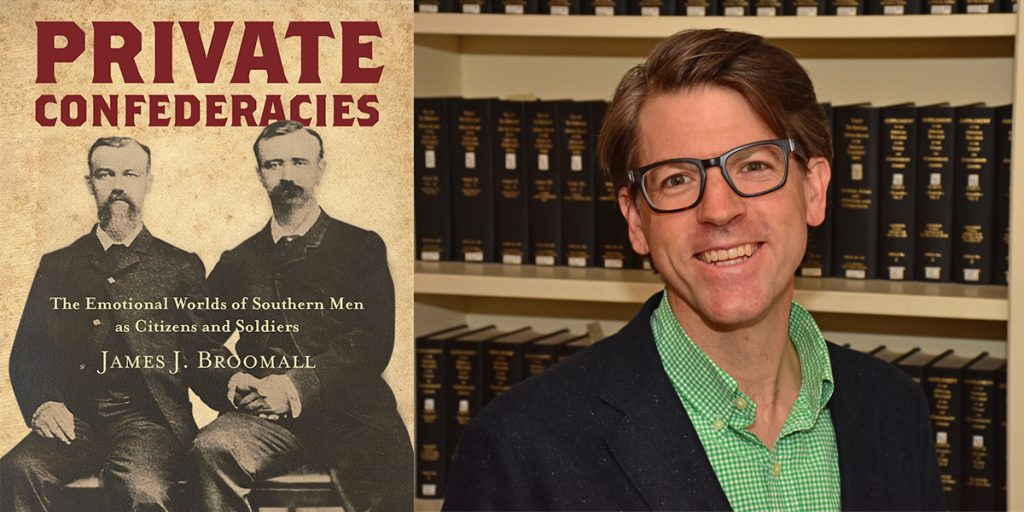 Dr. Jim Broomall and his new book - Private Confederacies