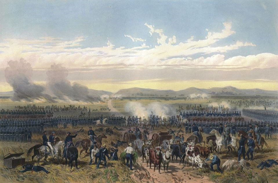 The Battle of Palo Alto Courtesy Wiki Commons