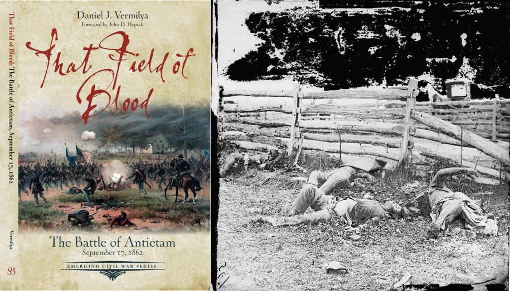 "The cover of Dan Vermilya's new book ""That Field of Blood"""