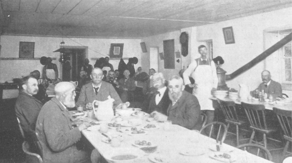 Dining Room of the Maryland Line Confederate Soldiers' Home. Courtesy of Daniel C. Toomey