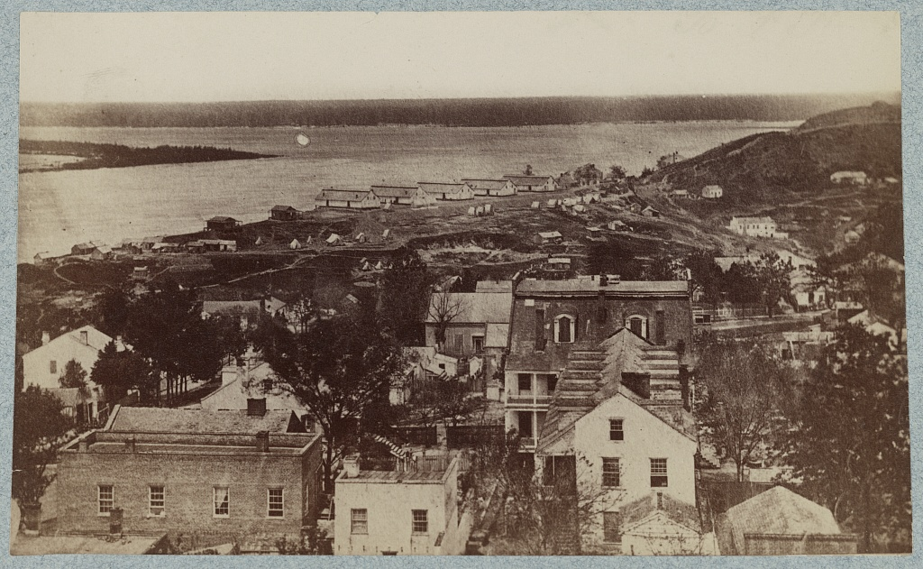 Wartime view of Vicksburg. Courtesy of the Library of Congress
