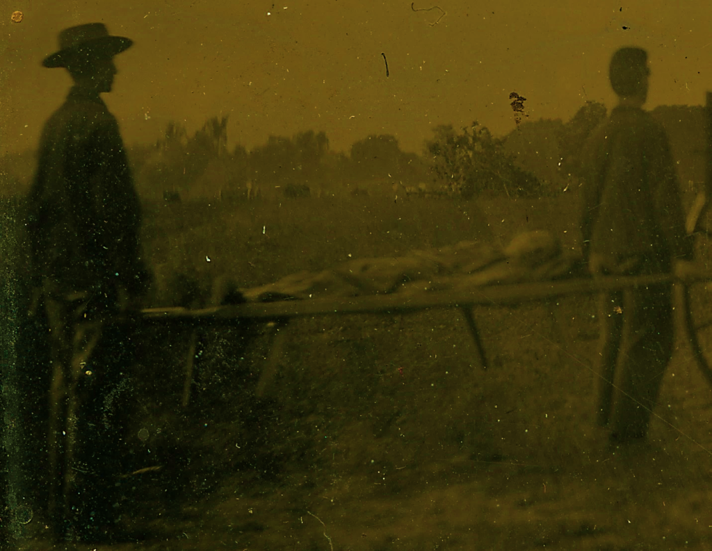 "Detail from ""Grandfather York,"" WICR 32037 Uncased, Image Courtesy of Wilson's Creek National Battlefield."