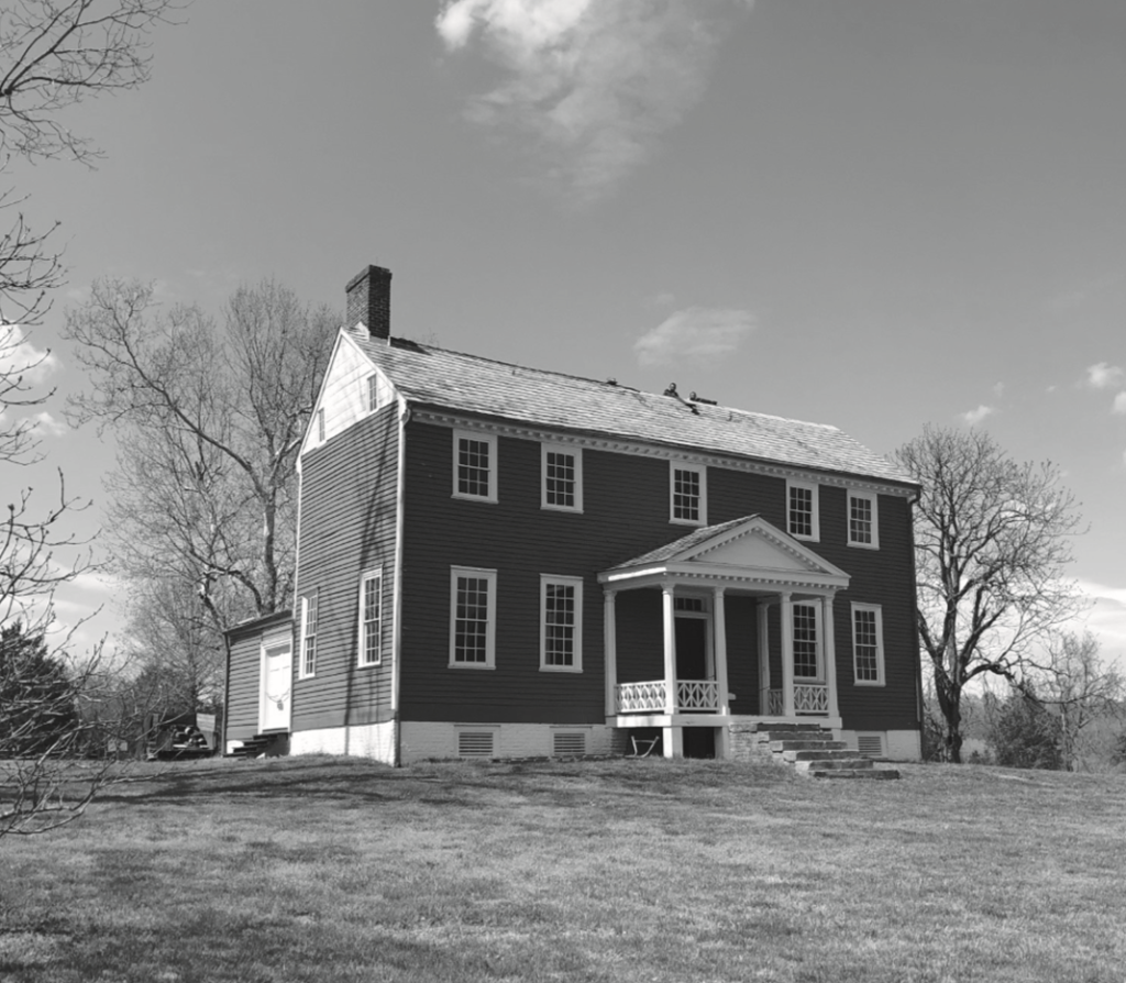 Ellwood Manor in April 2020. Photo courtesy of Bob Epp.
