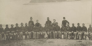 Unidentified group of USCT. Courtesy of the Library of Congress